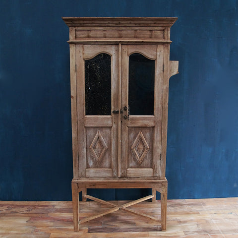 Antique Cabinet on Stand - Smith & Stocking  - 1