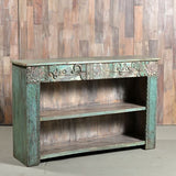 Carved Bookcase - Smith & Stocking  - 2
