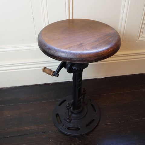 Rise & Fall Industrial Stool - Smith & Stocking  - 1