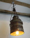 Milk Can Hanging Light - Smith & Stocking  - 5