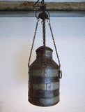 Milk Can Hanging Light