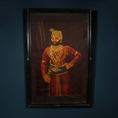 20th Century Maharaja Portrait - Smith & Stocking  - 1