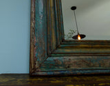 Rustic Wooden Mirror - Smith & Stocking  - 3