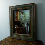 Rustic Wooden Mirror - Smith & Stocking  - 1