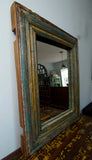 Rustic Wooden Mirror - Smith & Stocking  - 4
