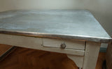 Zinc Industrial Dining Table - Smith & Stocking  - 4