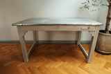 Zinc Industrial Dining Table - Smith & Stocking  - 3