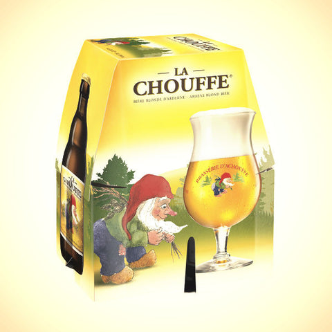 La Chouffe Blonde (8%) 4x330ml