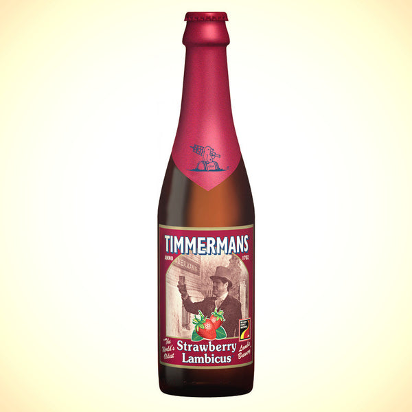 Timmermans Strawberry Lambicus (4%) 330ml