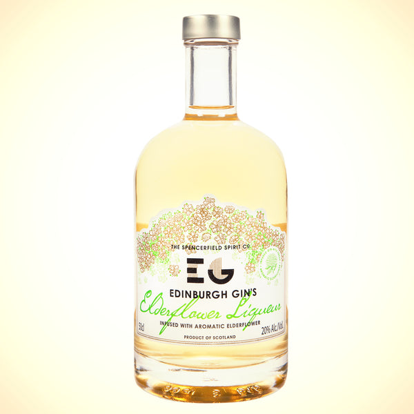 Edinburgh Gin's Elderflower Liqueur (20%) 50cl