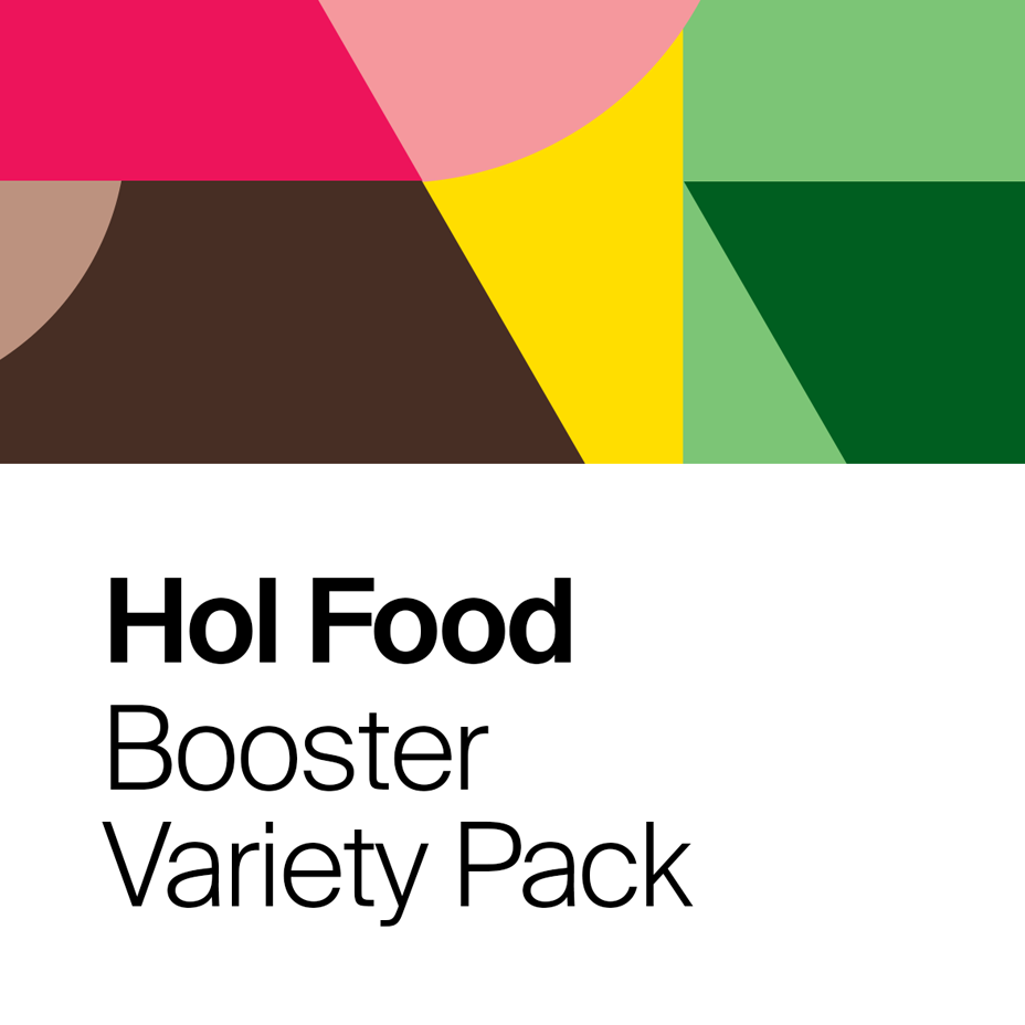 Booster Variety Pack (4x Each Flavour)