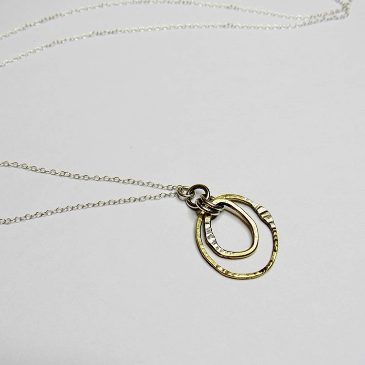 Brass Circles Collection - Pendant