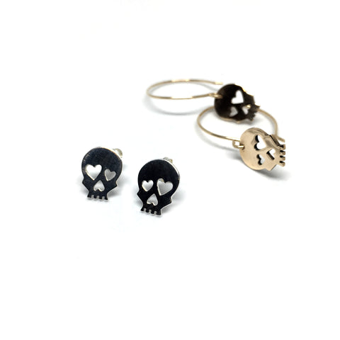 OCTOBER Skull Earrings - Limited time