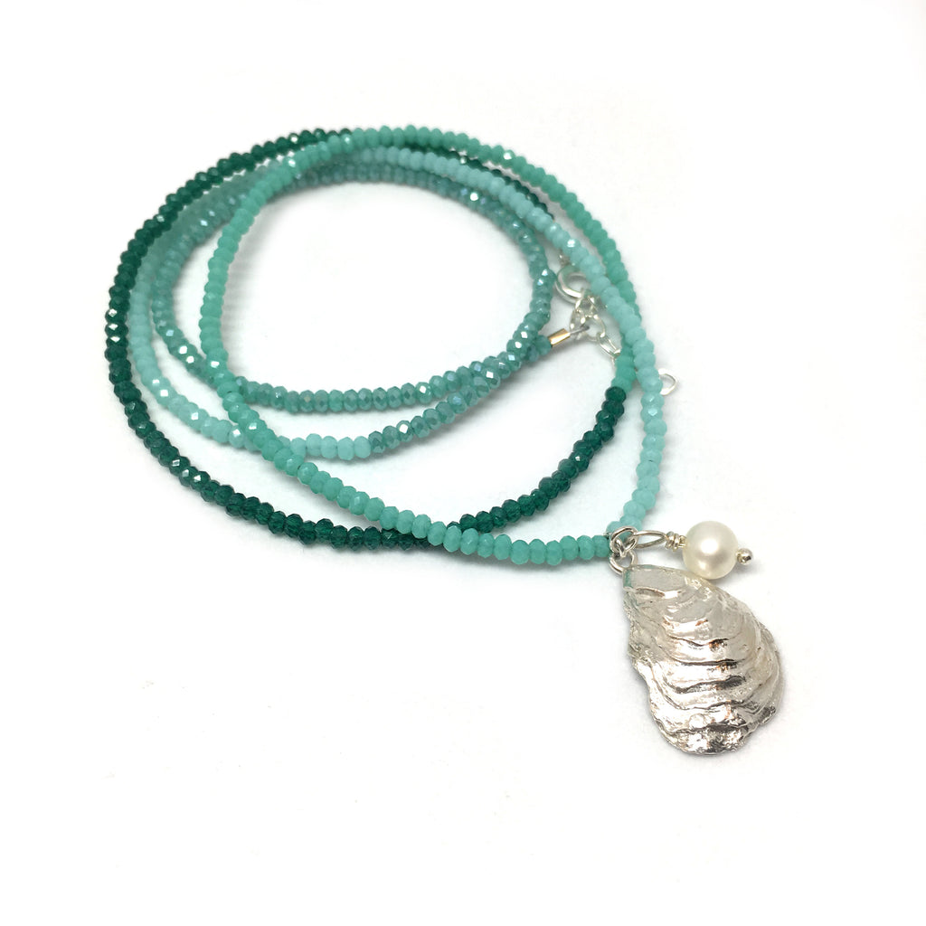 Oyster Wrap Bracelet/Necklace