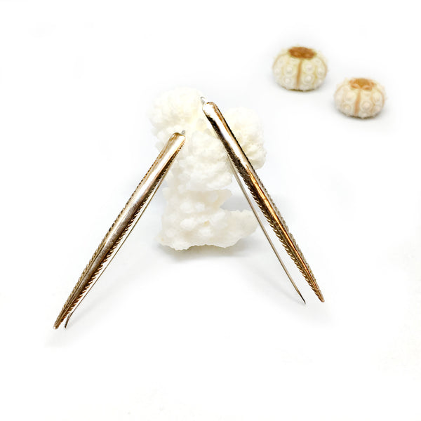 Ray Spike Earrings