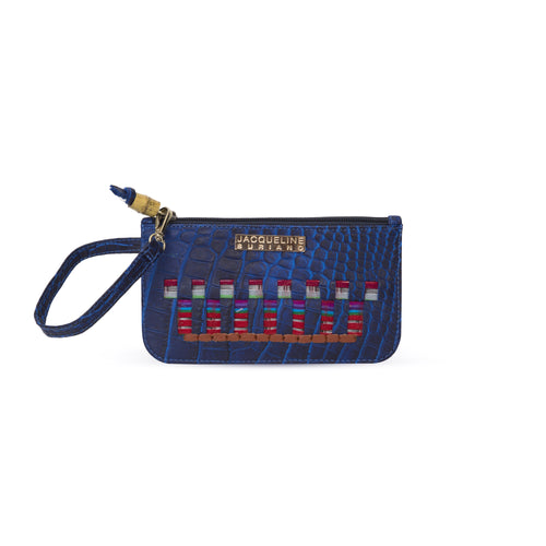 Bella wristlet - Blue