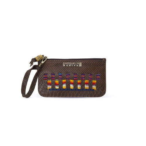 Bella wristlet - Brown
