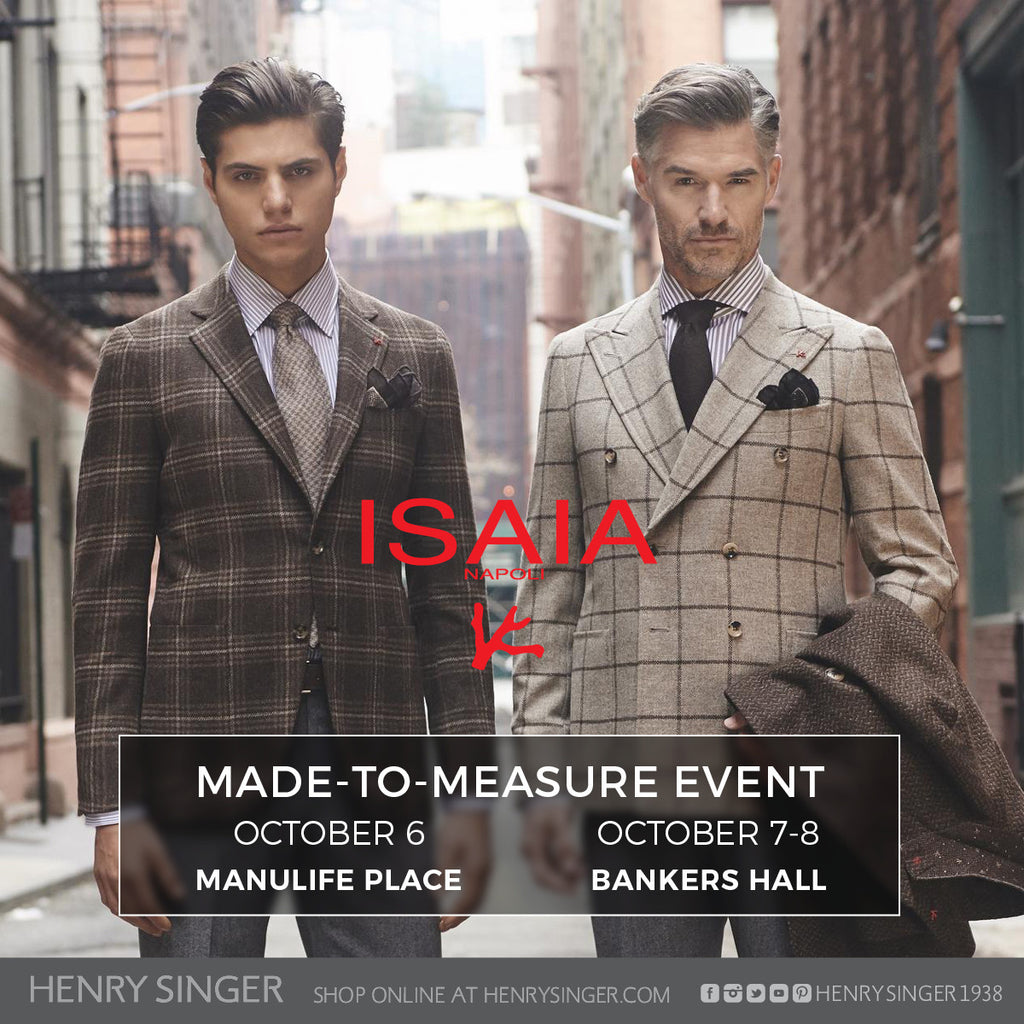 Isaia Made-to-Measure Event