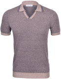 Oxford Point Knit Polo Shirt