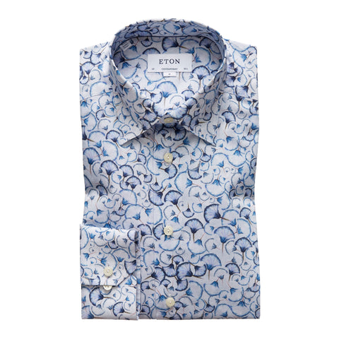 Check Cotton-Tencel Shirt