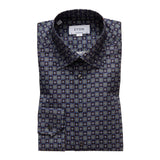 Medallion Print Twill Shirt