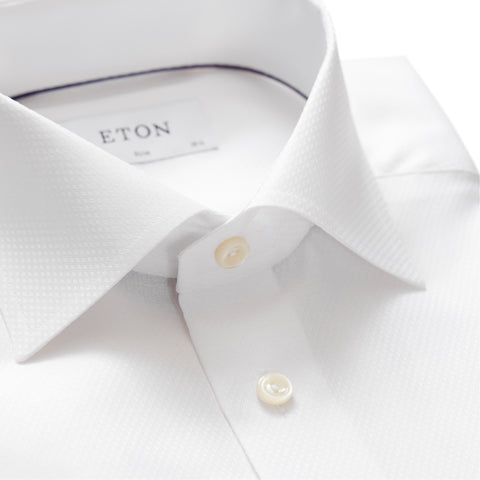 Diamond Weave Twill Shirt