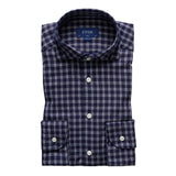 Checked Cotton-Tencel Shirt