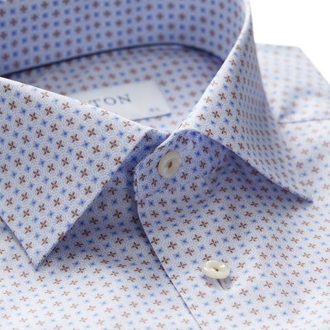 Contemporary Fit - Floral Poplin Shirt