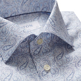 Contemporary Fit - Paisley Poplin Shirt