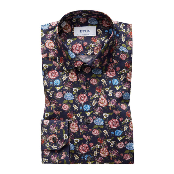 Contemporary Fit - Flower Twill Shirt