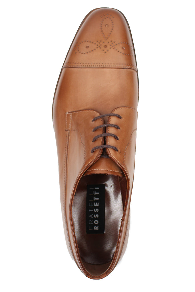 Brogue Cap Toe Shoe