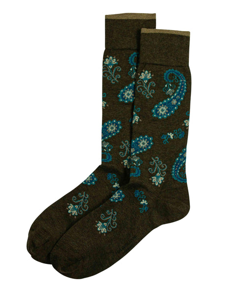 Oriental Flower Printed Socks