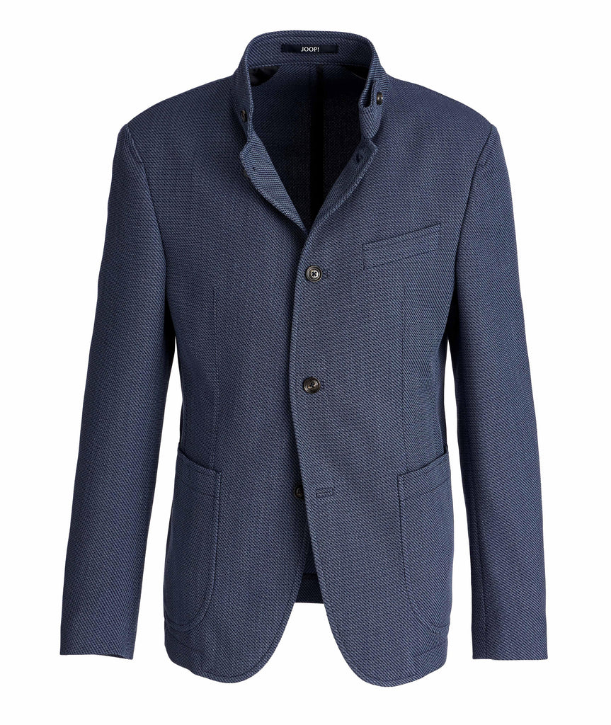 Slim-Fit Cotton-Wool Sports Jacket