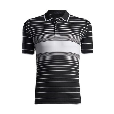 Illusion Stripe Polo