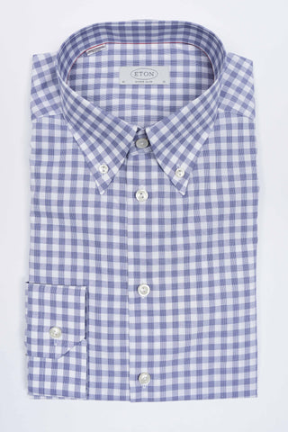 Hounds-tooth Print Shirt