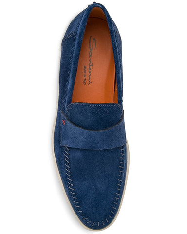 Banker Suede Loafer