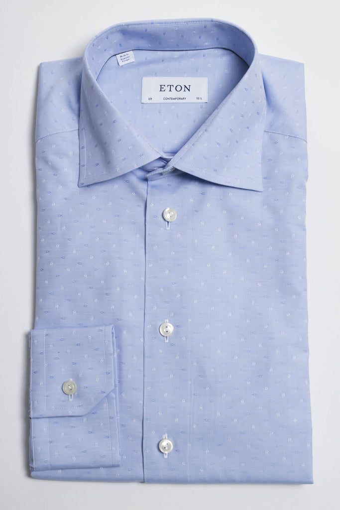 Micro Dot Dress Shirt