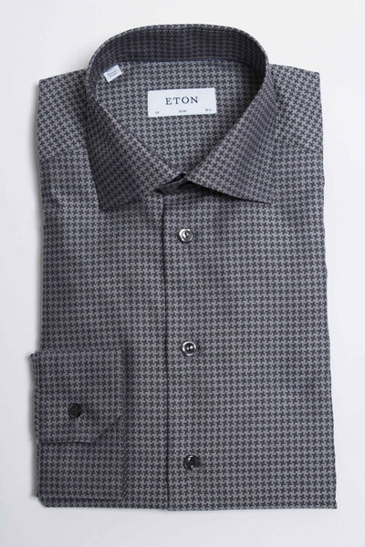 Micro Houndstooth Shirt