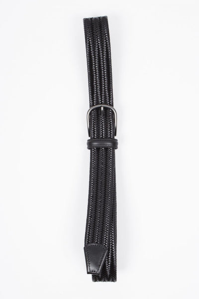 Woven Leather Belt