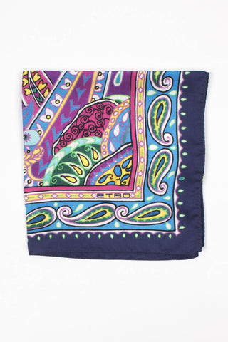 Paisely Print Pocket Square