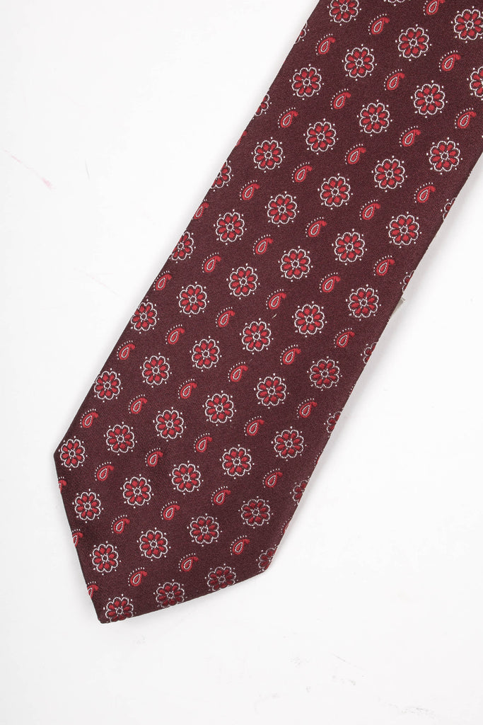 Paisely Print Tie
