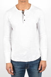1x1 Slub Long Sleeve Henley