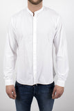 Grandad-collar shirt