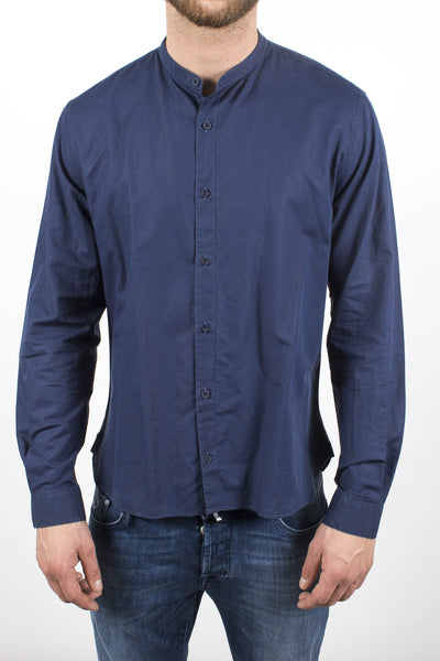 48cbc7524 Sunspel at Henry Singer Edmonton | Grandad Collar Shirt