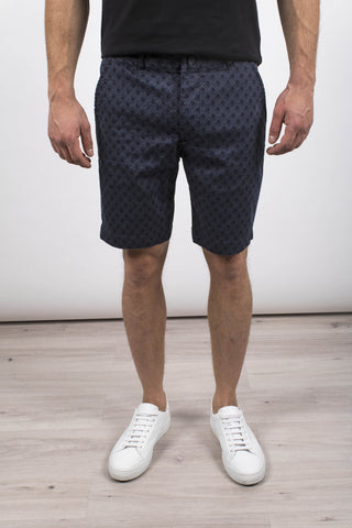 Diamond Printed Woven Shorts