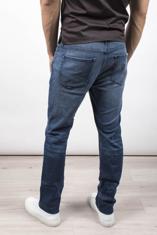 Low rise denim