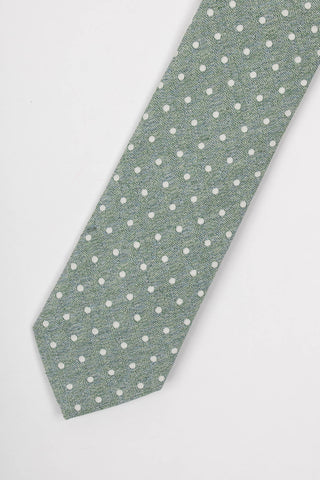 Dots Printed Tie