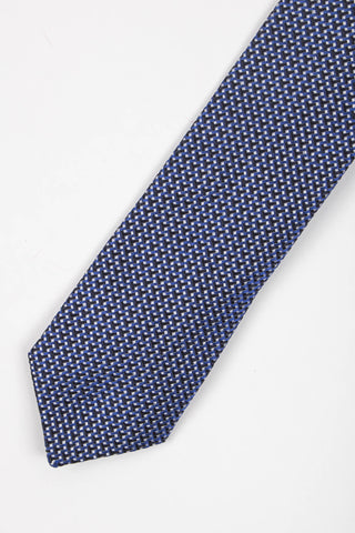 Hounds-tooth Print Tie