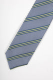 Striped/Houndstooth Printed Tie