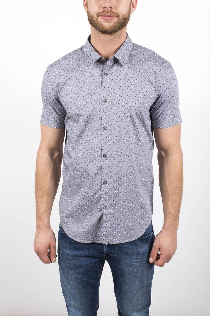 Abstract Arrow Print Shirt